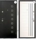 Металлическая дверь Мега Милан Роял белый