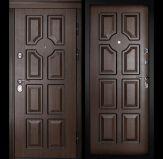 Уличная входная дверь «ДВЕРНОЙ КОНТИНЕНТ МИЛАН»